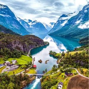 Путешествие в таинственную Норвегию, описание
