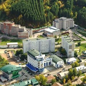 Санаторная зона Белокуриха в Алтайском Крае
