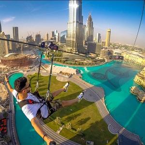 Экстремальный отдых в Арабских Эмиратах