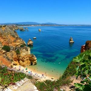 Отдых на пляжах Атлантического океана в Португалии