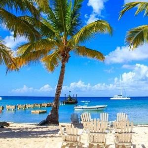Песчаные пляжи Доминиканы