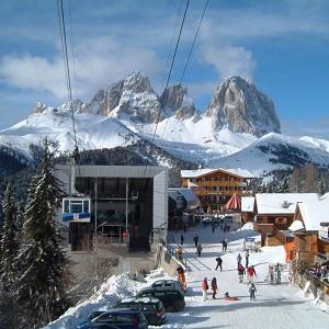 Одни из лучших горнолыжных курортов Италии
