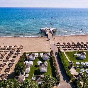 Песчаные пляжи на отдыхе в Турции