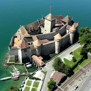Путешествие по Швейцарии – Шильонский замок