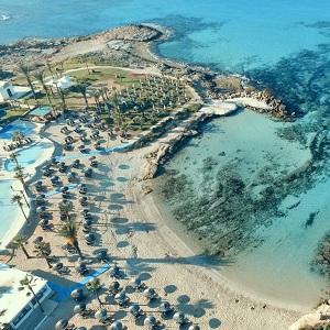 Одни из лучших пляжей острова Кипр