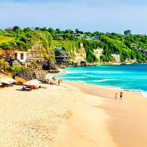 Одни из лучших пляжей острова Бали