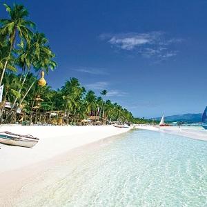 Одни из самых посещаемых пляжей Филиппин