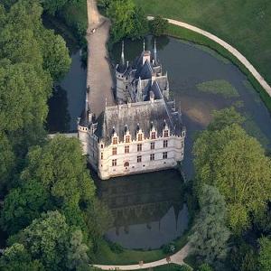 Замок Азе-лё-Ридо, Франция, избранные замки Луары