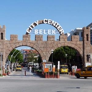 Современный курорт Турции, город-курорт Белек