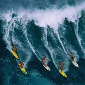 Лучшее место для начала занятий серфингом Гавайские острова