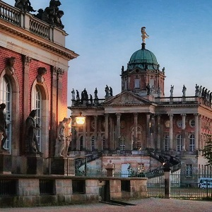 Путешествие в Потсдам, Германия, достопримечательности
